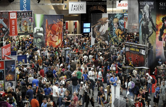 Comic-Con Exhibitor Hall