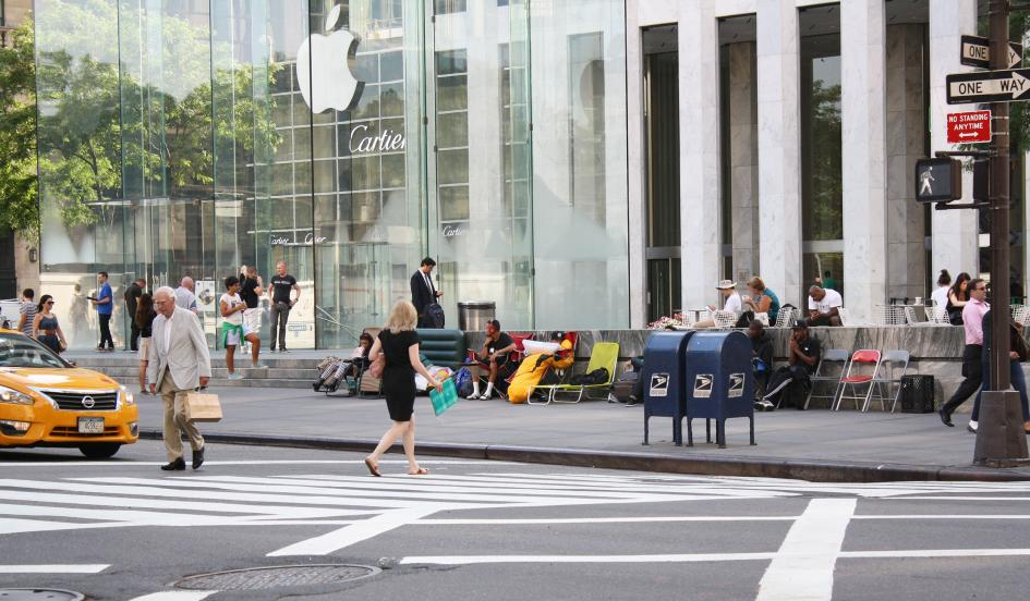 iPhone flagship store NYC