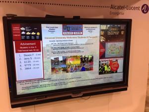 Alcatel-Lucent College Smart Board