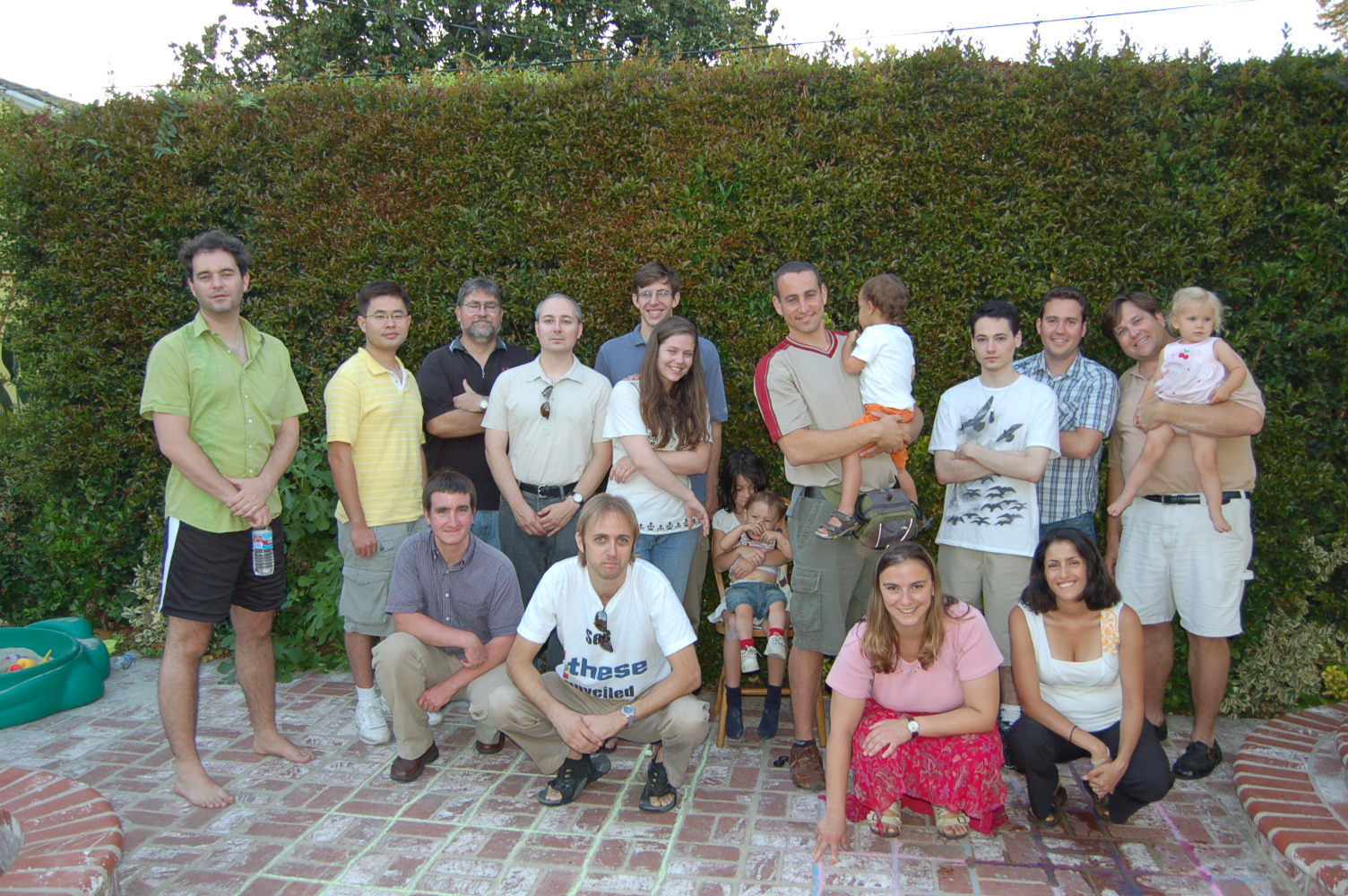 Part of the ab inventio team, Summer 2007