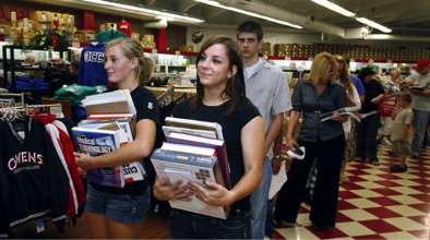 College Campus Bookstore Line.png