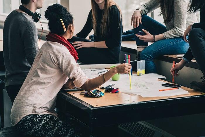 University-students-learning
