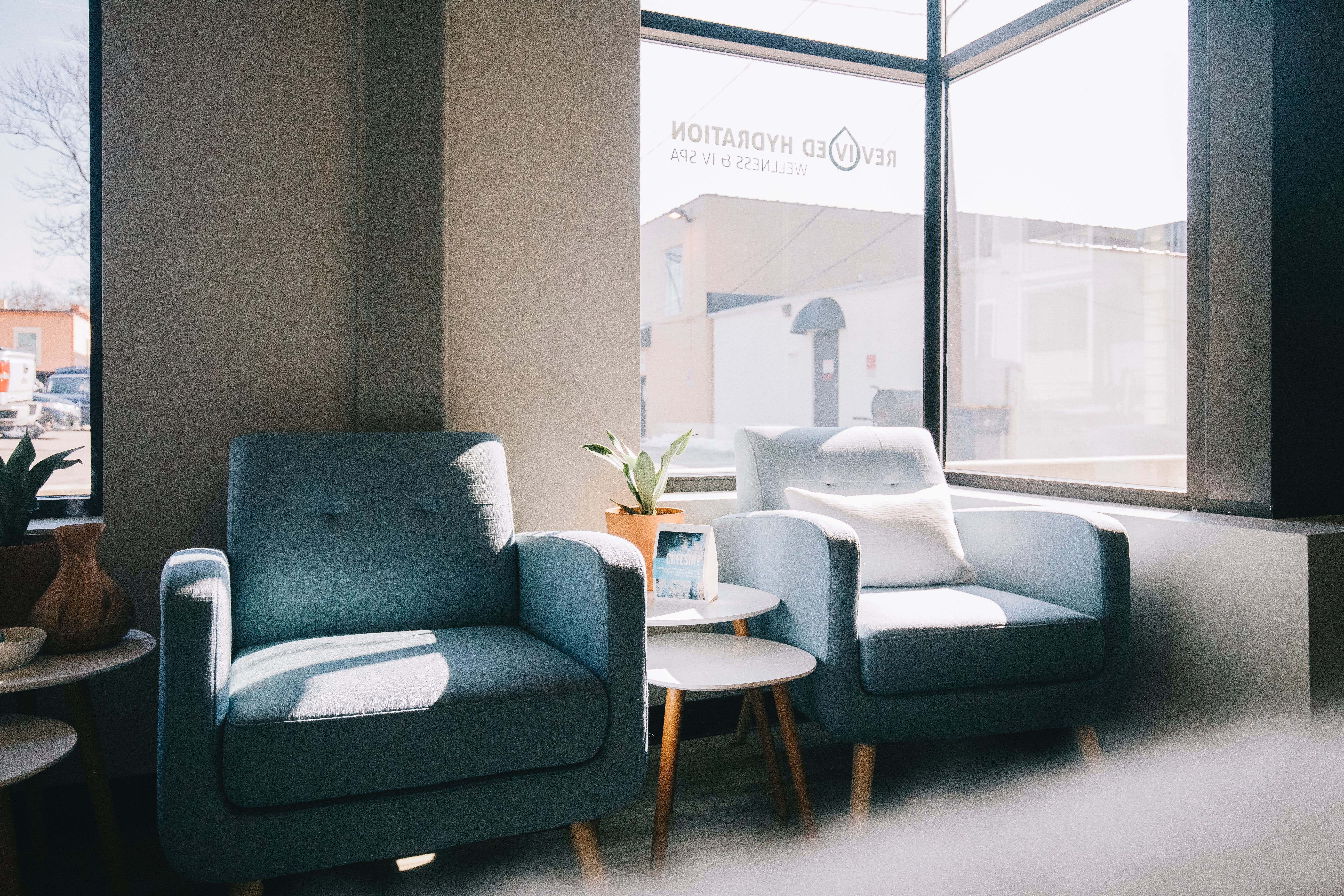 empty waiting rooms with the best appointment scheduling app