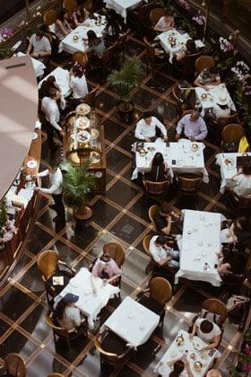 restaurant social distancing measures