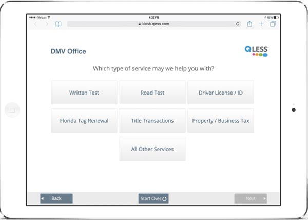 QLess Queue Management Feature